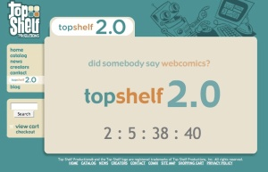 Countdown on the Top Shelf site