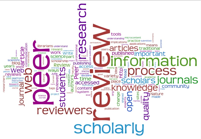peer review 2.0, the proceedings paper in tagcloud