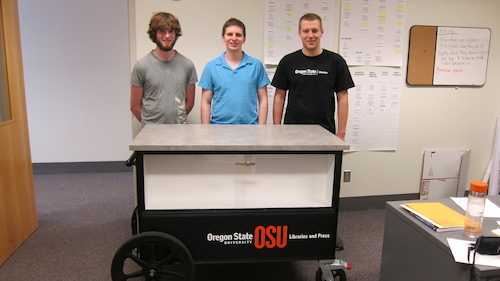 Our new outreach cart